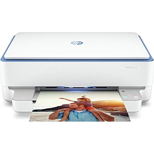 HP Envy 6010 All-in-One Wireless Inkjet Printer, White & Grey (H) 132.1 (W)...