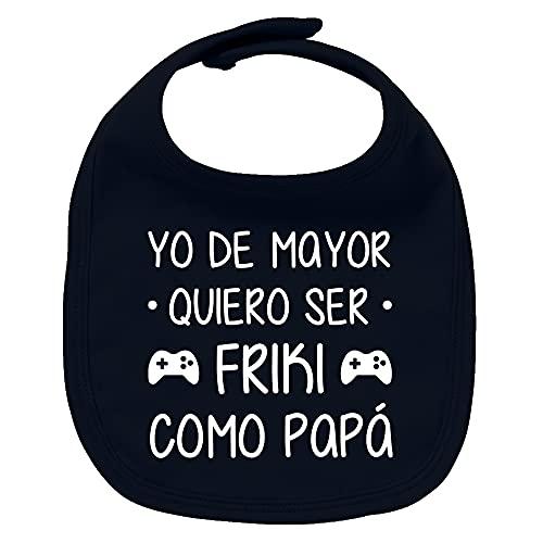 ClickInk Babero bebé Frki como papá....