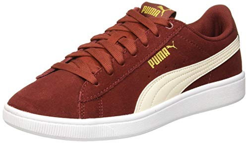 Puma Vikky V2, Zapatillas para Mujer - Rojo (Fired Brick-Pastel Parchment-Puma Team Gold-Puma White 09) - 36 EU