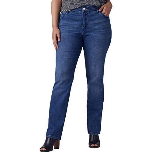 LEE Women's Plus-Size Flex Motion Regular Fit...