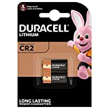 Duracell High Power Lithium CR2 Battery 3 V, (CR15H270) Designed for Use in Sensors, Keyless Locks, PhotoFlash and Flashlights, Pack of 2