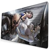 Game Resident Evil Lady Dimitrescu Large Gaming Mouse Pads,with Non-Slip Computers Laptop Office&Home 750×400×3mm (29.5×15.8×0.12 Inch)