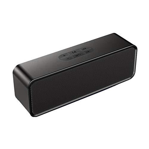 Draadloze Bluetooth subwoofer-dubbele luidspreker, draagbaar mini-kleinwagentje voor thuis, buiten, groot volume.