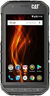 CAT PHONES S31 Unlocked Rugged Waterproof Smartphone, Network Certified (GSM), U.S. Optimized (Single Sim) with 2-year Warranty Including 2 Year Screen Replacement