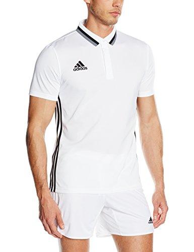 adidas Herren Poloshirt Condivo 16 CL, White/Black, S
