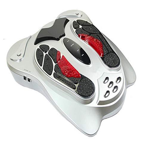 RUIXFFO EinstellbarFussmassagegerät: Fußreflexzonen-Reizstrom-Massagegerät mit Infrarot-Tiefenwärme (Fußreflexzonenmassagegeräte) Entspannen Sie Sich, B