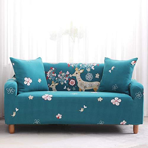 chenhe Couch Covers Seat Cover,Non-slip elastic sofa cover/washable/anti-mite/anti-crease/anti-scratch adjustable protector-3 persons (190-230cm)_K3
