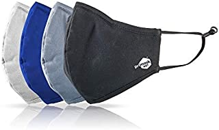 Primask NXT - Professional and Ultra Premium Reusable Face Mask with Outer Polyester/Inner Soft Cotton. Special Antibacter...