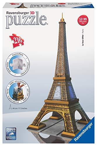 Ravensburger 3D Puzzle 12556 - Eiffelturm - 216 Teile