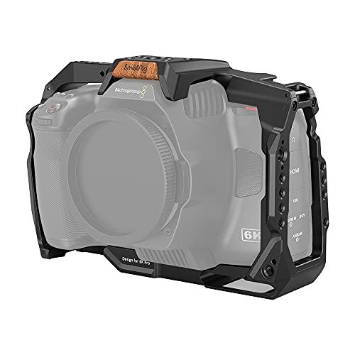 SMALLRIG BMPCC 6K Pro Full Cage Jaula Solo para Blackmagic Pocket Cinema Camera 6K...