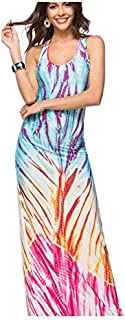 فستان لل نساء مقاس M , ابيض - فساتين عملية كاجوال