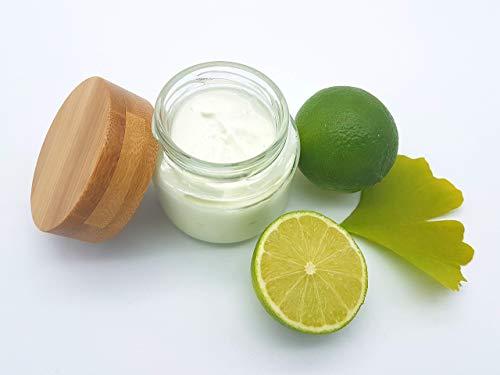 Sheasahne Ginkgo Limette, vegan, ohne Palmöl, plastikfrei, reichhaltige Bodylotion von kleine Auszeit Manufaktur