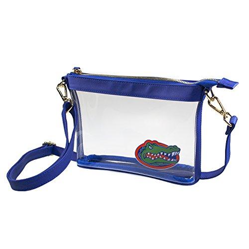 Capri Designs Clear Small Crossbody Bag, Stadium Approved, UF Gators - University of Florida NCAA Licensed