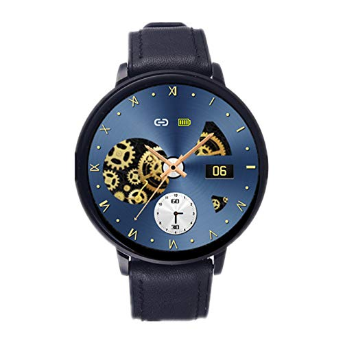 XYZK Z58 Smart Watch Smart Screen Full Pantalla Completa Múltiple Dial Tarifa Cardíaca Monitor De La Presión Arterial Tracker Business Sports Watch para Android iOS,D