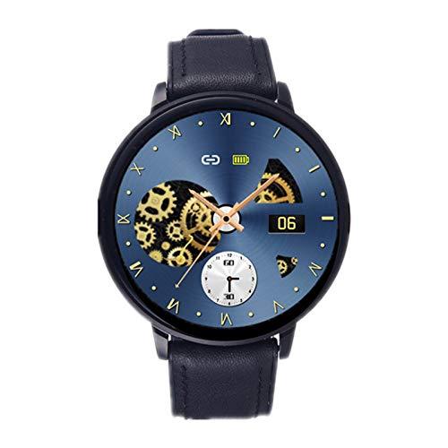 LJMG Z58 Bluetooth Smart Watch Men's IP68 Pedómetro Impermeable Pedómetro Rastreador Reloj De Presión Arterial Reloj Smartwatch Hombres Mujeres Fitness Bracele,C