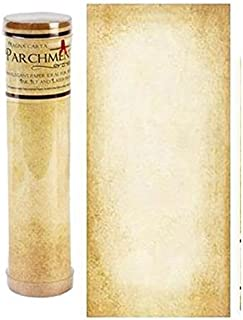 Aged Parchment Scroll Paper - 8.5x18
