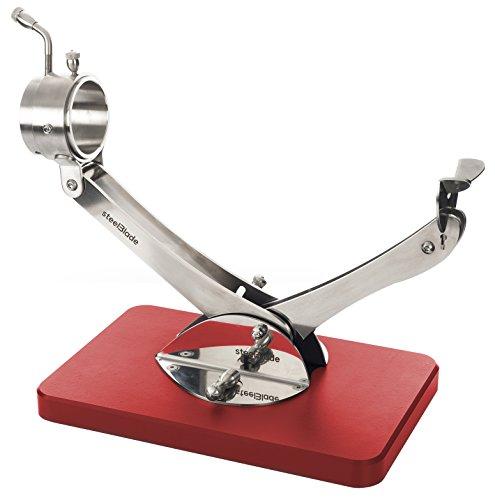Jamonero Articulado Giratorio 360 Inox Rojo Steelblade - Soporte Jamonero