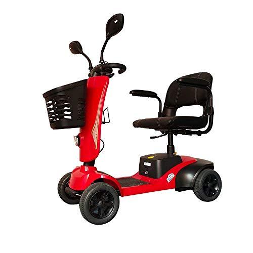 Y-L Behinderter Älterer Erwachsener Elektrischer Allrad-Klapproller Elektrischer Motorroller, Stabiler und Leichter zu Fahren Geeignet für Ältere Oder Behinderte Menschen