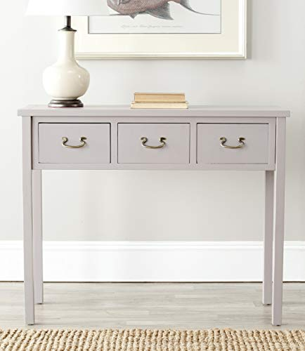 Safavieh American Homes Collection Cindy Quartz Grey Console Table