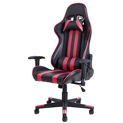 SXFYWYM moderne computerbureaustoel kan worden gedraaid om moderne bureaustoel voor comfort, rood