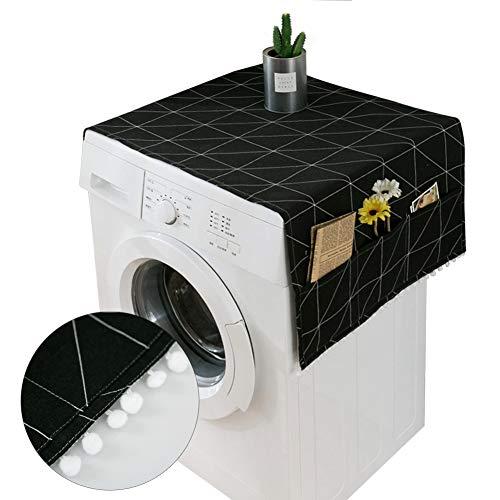 Copertura antipolvere per frigorifero, antipolvere con custodia, per lavatrice e frigorifero.