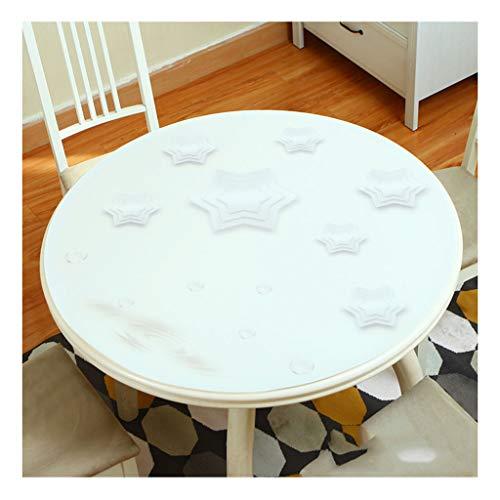 &Nappes Nappe ronde en PVC - Table à manger Cuisine transparente en PVC nappe de table (Couleur : F, taille : Round-120cm)