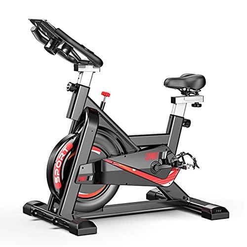 Spinning Bike Bicicleta De Ciclismo para Interiores Estacionaria - Bicicleta Estática para Gimnasio En Casa con Cómodo Cojín De Asiento, para Todos Los Equipos De Entrenamiento Y Gimnasio En Casa