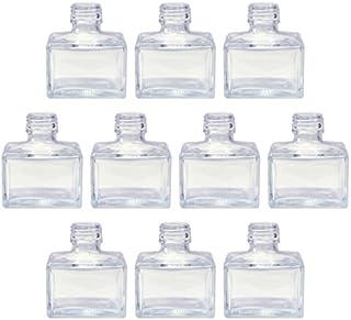 日本製 ハーバリウム スクエアガラス瓶 150cc 10本セット