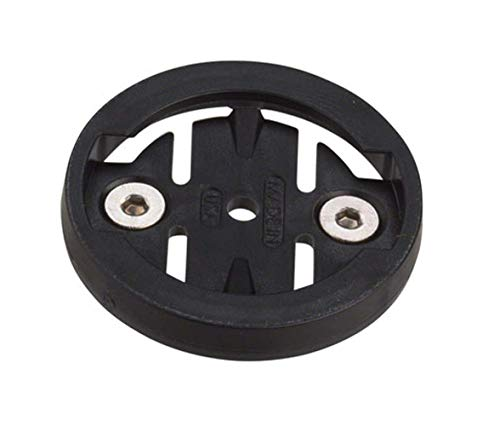 K-Edge Replacement Plastic Insert Kit pour Garmin 1/4 Mounts Adultes Unisexe Noir