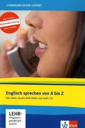 Business English sprechen mit Video-DVD und Audio-CD - Englisch Intensiv-Sprachkurs für Konversation, Kommunikation und Nachschlagen