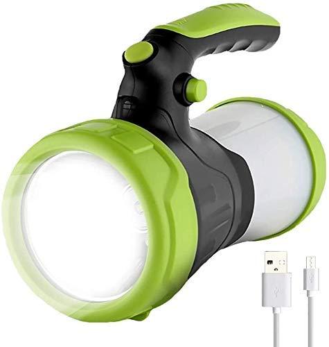 Riflettore 100W LED Torcia Lampada USB 6000mAh Portatile Luci di Lavoro Impermeabile Torcia Torcia Caccia