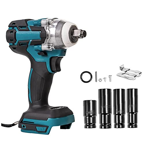 18V Electric Wrench Cordless Drill Screwdriver Brushless Impact Wrench with Screw Sockets Power Tool Electrical Tools