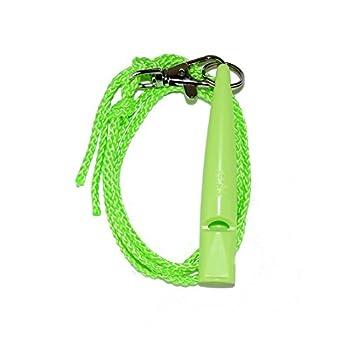 ACME No. 210,5 coup de sifflet de chien avec un ruban (vert lime)