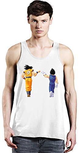 Dragon Ball Z Goku Vegeta Tank Top X-Large