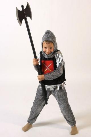 Foxxeo 10027 | Ritterkostüm für Kinder Kinderkostüm Ritter Kostüm Gr. 98/104, 110/116, 122/128, 134/140, Größe:110/116 - 2
