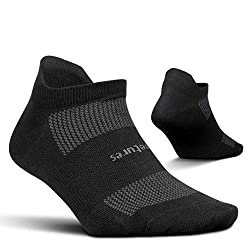 Feetures Unisex High Performance Ultra Light No Show Tab Sock