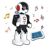 YARMOSHI Remote Control Intelligent Robot Toy - Walking, Talking, Dancing, Singing with Flashing...