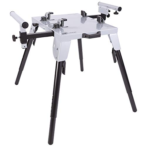 Evolution Power Tools 005-0002 Chop Saw Stand with Universal Fitting, Height Adjustable, 3M Extendable Arms & Supports Upto 225KG