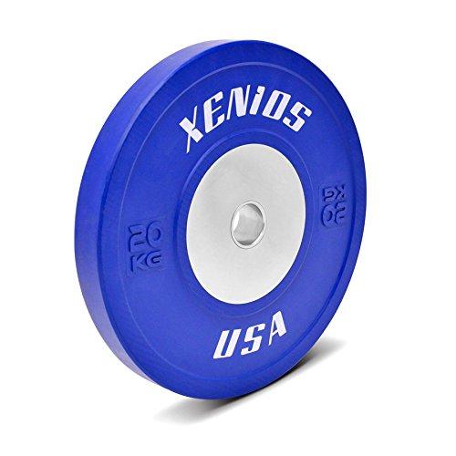 Xenios USA Disco Bumper Competition in gomma blu - 20 Kg.