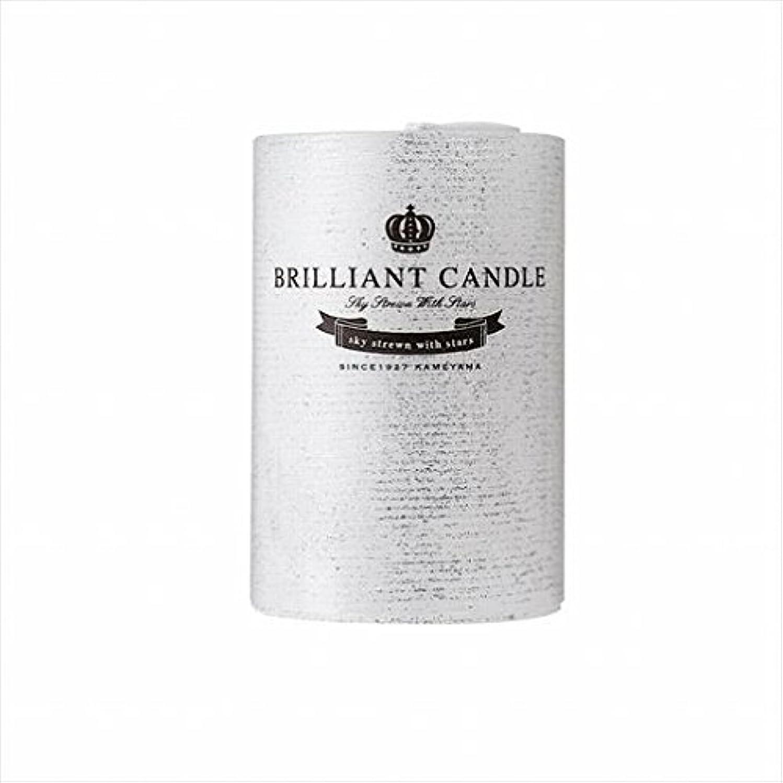 先見の明粒子エレベーターカメヤマキャンドル(kameyama candle) ブリリアントピラー2×3 「 パール 」