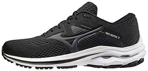 Mizuno Men's Wave Inspire 17 Running Shoe, Dark Shadow-Shade, 10.5