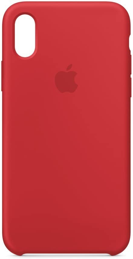 Apple Silicone Case (for iPhone X) - Red Raspberry