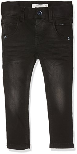 NAME IT Jungen Nitclas XSL DNM Pant NMT Noos Hose, Black Denim, 128