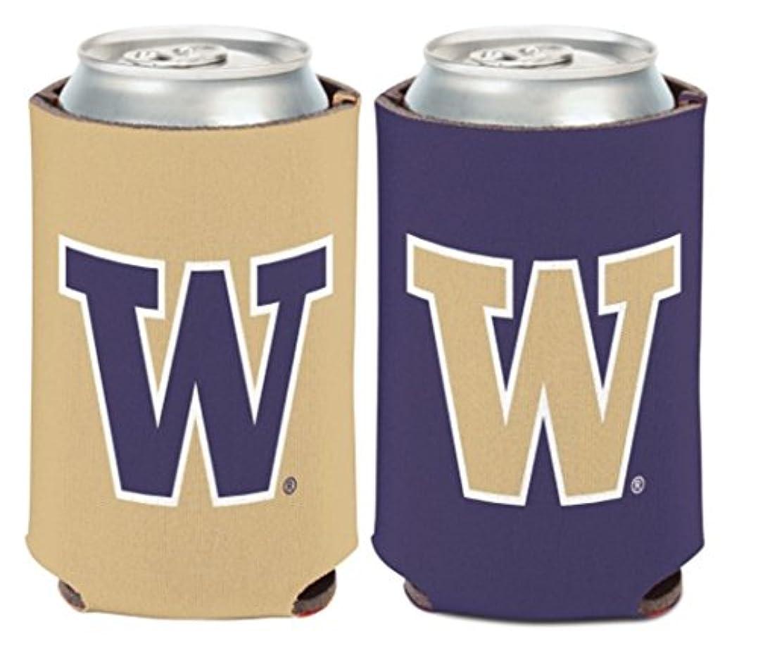 なぞらえるふざけた同意する大学NCAA Washington Huskies 1パック12オンス両面Can Cooler