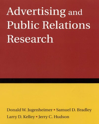 By Donald W. Jugenheimer - Advertising and Public Relations Research