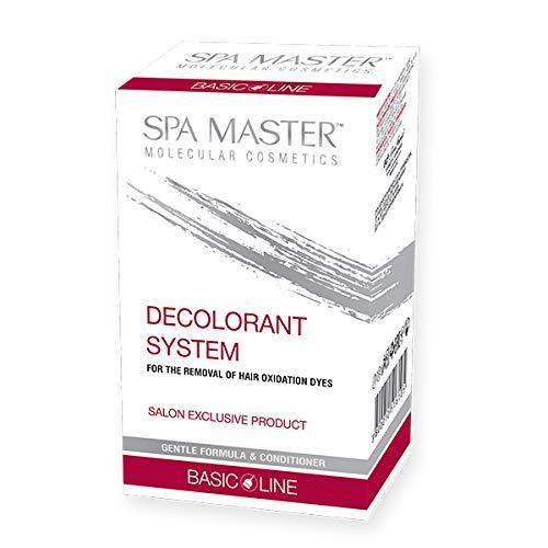 Spa Master Système Décolorant pour l'élimination des Colorants d'oxydation des Cheveux Formule Douce et Revitalisant 240ml