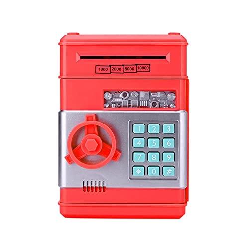 SMEJS Hucha Contraseña electrónica Hucha Caja de Dinero Moneda en Efectivo Depósito automático Billete Máquina de Ahorro de Dinero Cajero automático Caja de Seguridad del Banco (Color: H)
