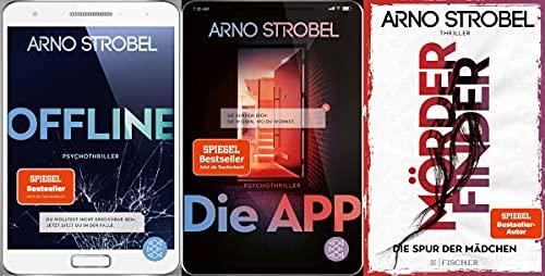 Offline - Die App - Mörderfinder von Arno Strobel im Set + 1 exklusives Postkartenset