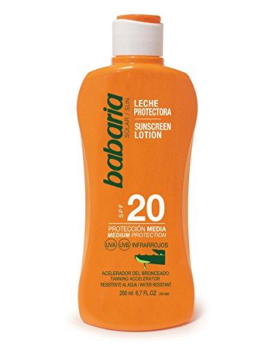 BABARIA Körper Sonnencreme, 200 ml