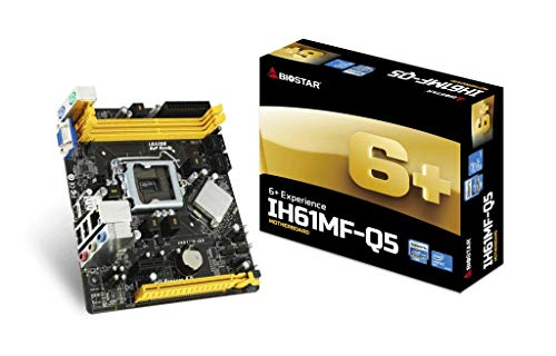 Biostar IH61MF-Q5 - Placa base (Intel, LGA 1155 (Socket...